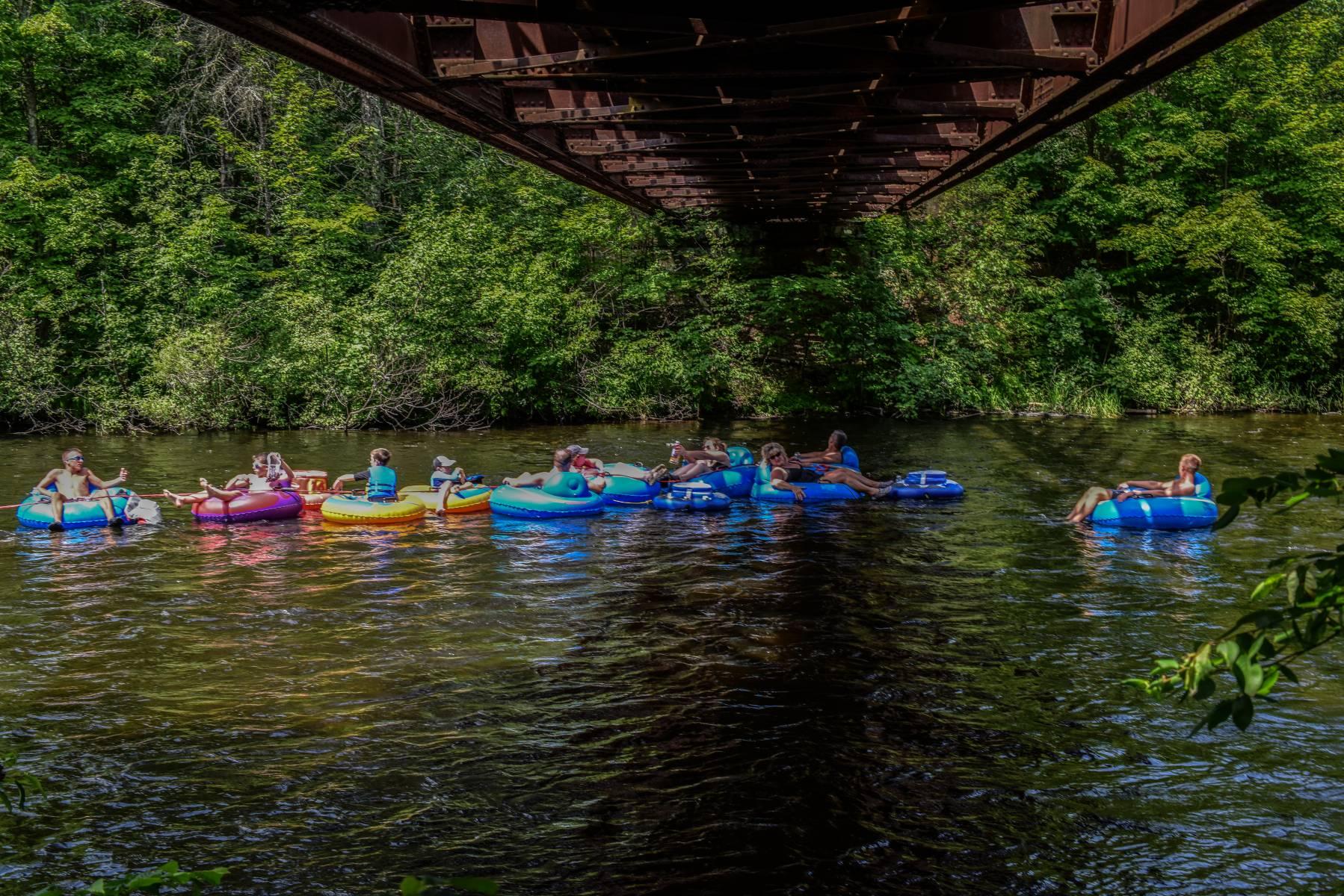 River Trips Camp Namekagon Hayward Wisconsin Rv Park